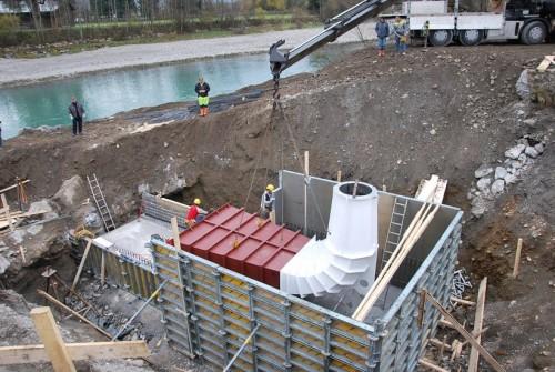 Wasserkraftwerk Einöden, St. Johann im Pongau