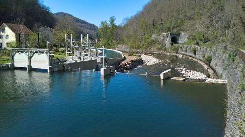 Wasserkraftwerk Mourlasse
