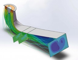 Flow simulation and hydraulic optimization
